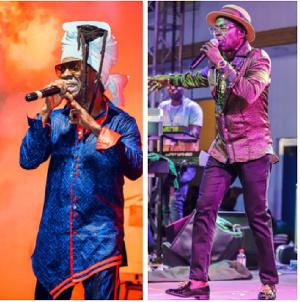 Ghanaian music legends, Amakye Dede and Kojo Antwi