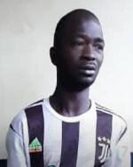 The suspect,  Suleman Mumuni Tanko