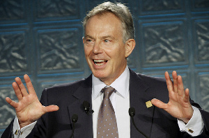 Former British Prime Minister, Tony Blair