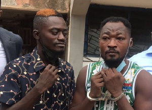 LilWin (left) was in court to sympathize with Funny Face