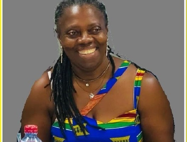 Mrs. Delphina Quaye is the President-elect for the Ghana Swimming Association