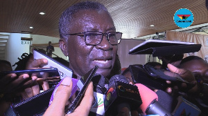 Minister for Environment, Science, Tech and Innovation, Prof Frimpong Boateng