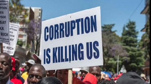 The African masses have expressed their displeasure at the rise in corruption on the continent