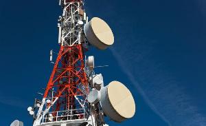 A telecom mast