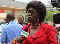 Member of Parliament for Ablekuma West, Ursula Owusu-Ekuful