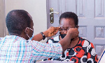 The exercise was held in collaboration with eye specialists from the Korle-Bu Teaching Hospital