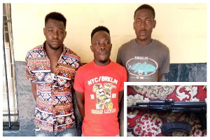 The three suspects have been remanded to appear again on September 4