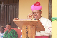 Most Rev. Peter Paul Angkyier, Bishop of the Diocese of Damongo