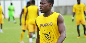 Medeama midfielder, Rasheed Nortey