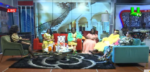 Hanah Marfo, Diana Hopeson, Abaawa Comfort and Ophelia Nyantakyi were present during United Showbiz