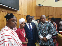 North Tongu MP, Samuel Okudzeto Ablakwa (right)