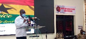 Isaac Bampoe Addo, Executive Secretary, CLOGSAG