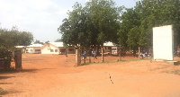 The front view of Walewale District Hospital