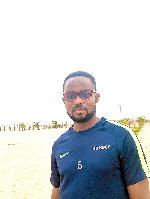 Sunset Sports Keta CEO Dzidodo Ruben Adjahoe