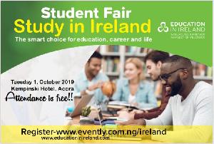 Fourteen Irish universities will be present at the fair