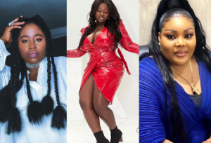 Lydia Forson, Sista Afia and Ceccy Twum are part of plus size celebrities who are 'fashionistas'