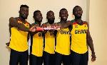 Ghana's relay team
