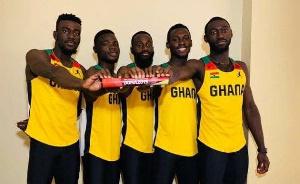 Ghana Relay Team 67