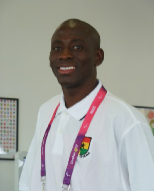 Ghana's para-cyclist Allem Mumuni