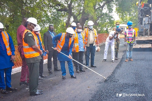Dr Bawumia was speaking at a sod-cutting ceremony at Burma Camp, Accra