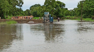 The situation has cut off communities in Kologo and Naaga from the rest of the municipality