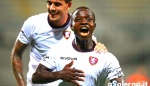 Ghanaian midfielder Moses Odjer
