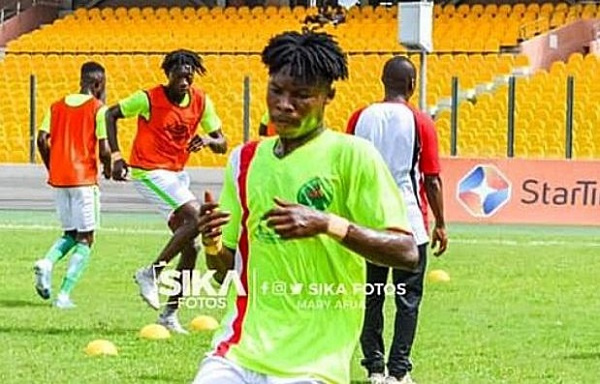 I\'m ready to play for Kotoko if they reach agreement with Eleven Wonders - Salifu Ibrahim