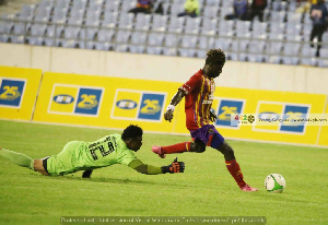 Frank Boateng committed a blunder against Hearts of Oak