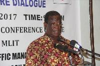 Minister of Roads and Highways, Kwasi Amoako-Atta