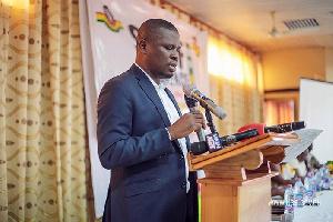 Mustapha Ussif, Head of the Ghana National Service Scheme