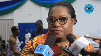 Former Minister for Gender, Children and Social Protection, Nana Oye Lithur