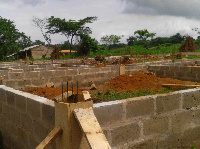 Construction of  school