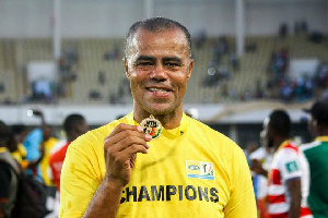 Steve Polack won the 2017 MTN FA Cup for Asante Kotoko after beating Hearts of Oak 3-1