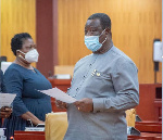 Roads Minister, Kwesi Amoako Attah