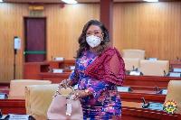 MP for Awutu Senya East constituency, Hawa Koomson