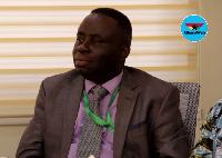 Dr Daniel Asare, CEO, Korle-bu Teaching Hospital
