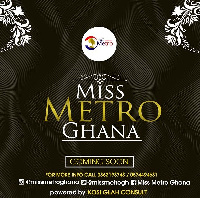 The pageant will audition eloquent ladies of substance from the five metropolitan cities in Ghana