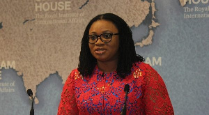 Charlotte Osei is the immediate past Chairperson of the EC