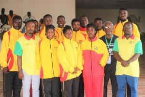 The national badminton team