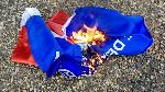 NPP flag burning