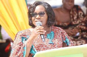 Minister of Fisheries and Aquaculture Development, Elizabeth Afoley Quaye