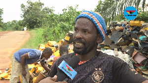 Abubakar, a scarp dealer, has been in the business for 12 years because it is lucrative, he says