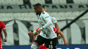 Kevin-Prince Boateng made a second-half appearance as Besiktas clinched a 3-0 win over Konyaspor