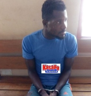 The Suspect, Kwasi Amfo