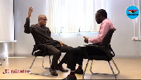Mustapha Hamid was discussing crucial issues pertaining to governance with Ghanaweb's KKB