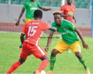 Aduana Stars versus Asante Kotoko in Dormaa