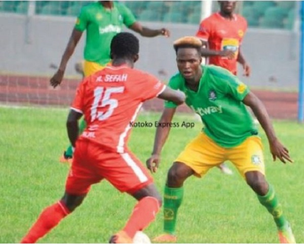 Three times a Ghana Premier League fixture started with ten players