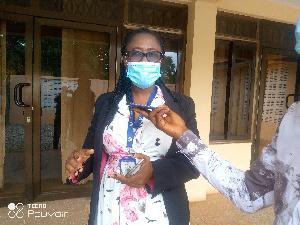 FDA Regional Director,  Akua Amponsaa Owusu