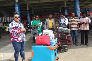 Ohemaa Jacky at Kotoka International Airport