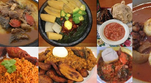 Some local dishes